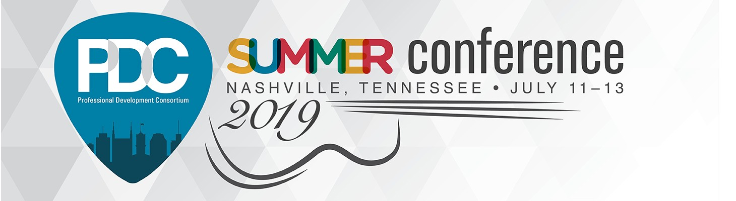 2019 PDC Summer Conference Schedule | Professional Development